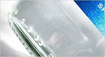 Linx CSL30 ガラスに対する通常印字サンプル