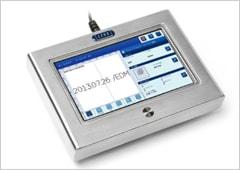 Linx CSL30 カラータッチパネルユーザーインタフェースLinx Vision