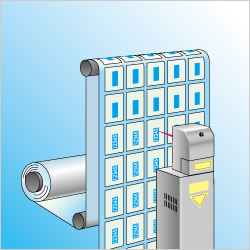 レーザーマーカー活用のすすめ:CSLにするとイラスト(効率的に多列印字を実現)