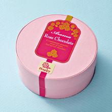 ローズチョコレートへの芳香ラベルのご提案例