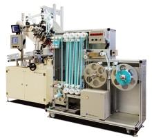 ラベル供給システムの機械写真