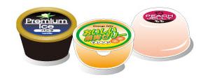 主な使用例-アイスクリーム、ゼリー