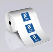 横ピロー包装機取付例の貼付イメージ1
