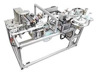 胴巻きラベラーの機械写真