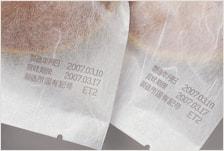 MDL6064印字サンプル(和紙への印字)