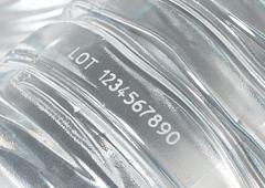 プラスチック・樹脂への印字イメージ写真