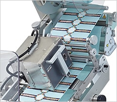 Labeling Machine With A Coder