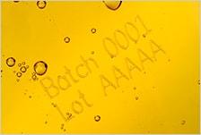 SL1の印字事例3:樹脂ボトル