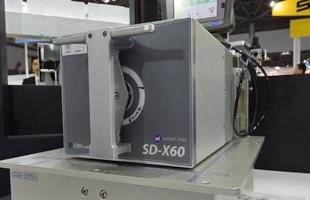 SDX60/128展示の様子